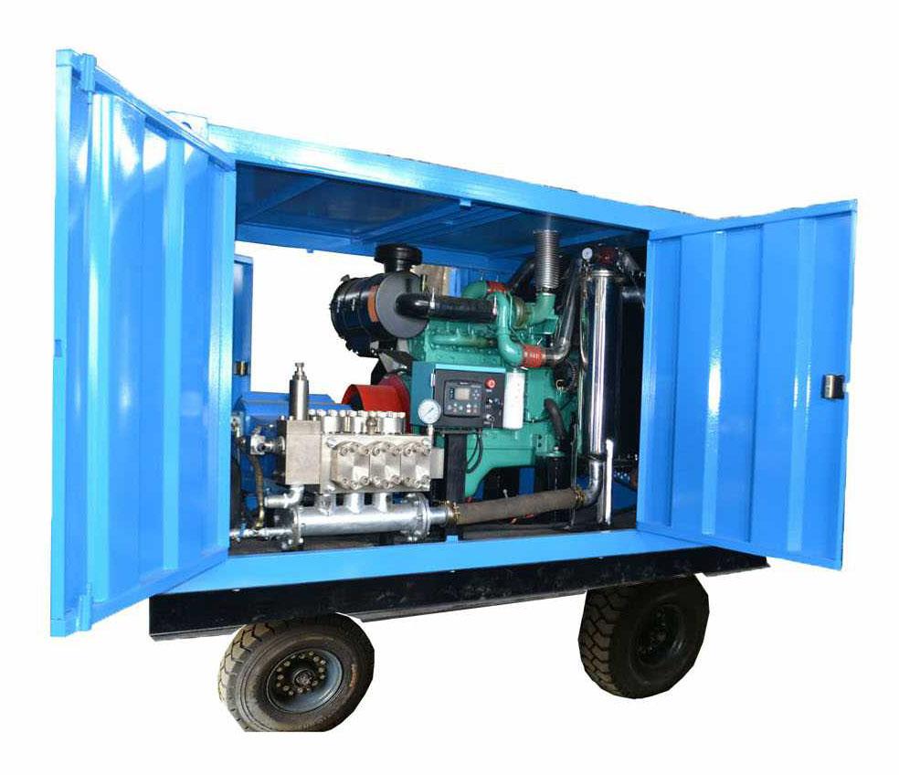 工业管道清洗设备 GYB-2型高压泵(90-500)bar