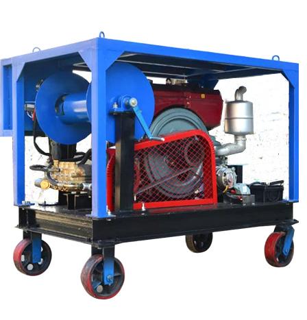 高压柴油管道疏通清洗机