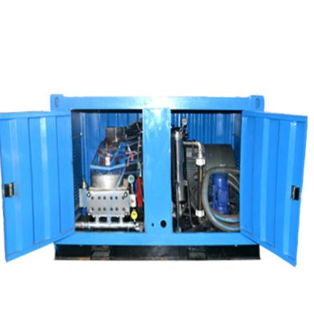 铝合金模板自动高压清洗机