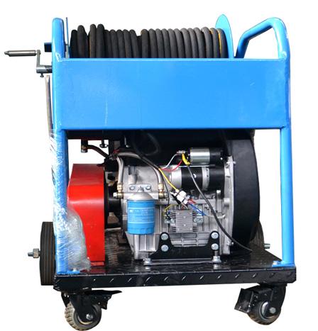 双缸柴油高压水疏通清洗机