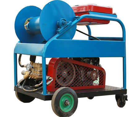 汽油驱动管道清洗设备